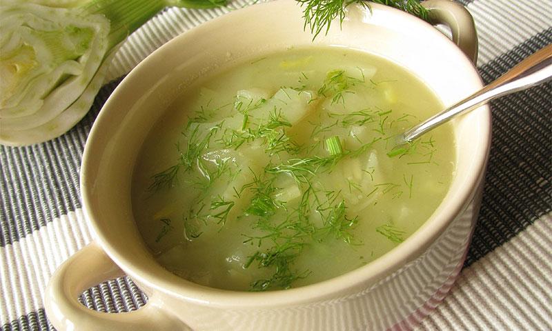 Sopa de hinojo