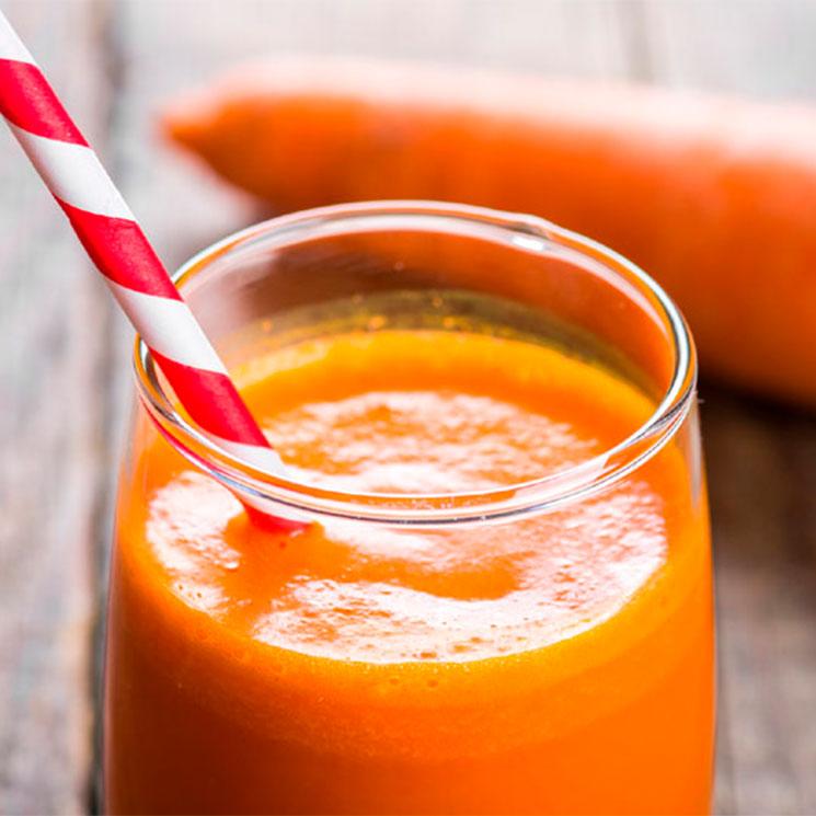 'Smoothie' de payaya y zanahoria