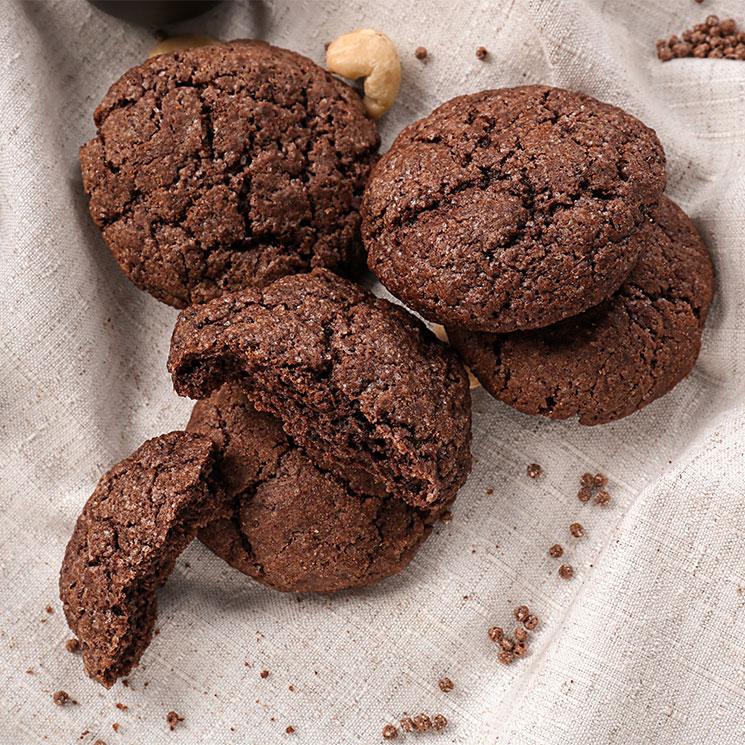 'Cookies' de chocolate y anacardos