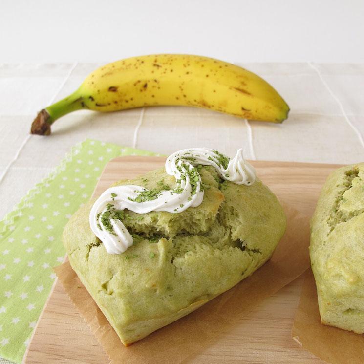 'Matcha banana bread'