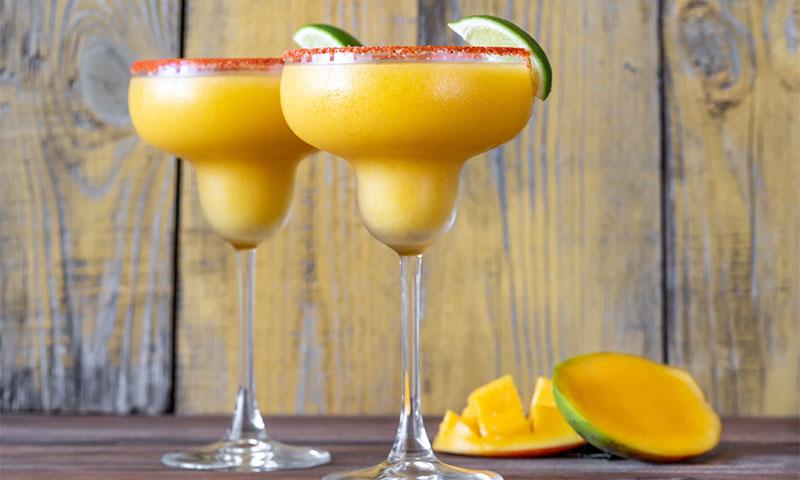 Margarita 'frozen' de mango