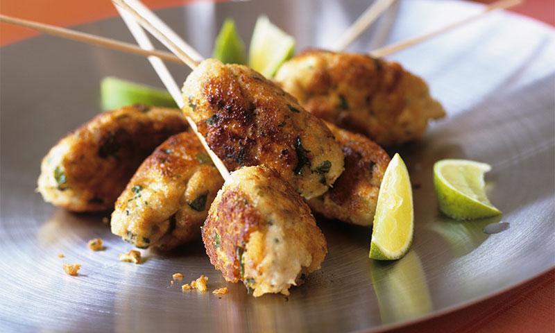 'Kefta kebab' de pollo