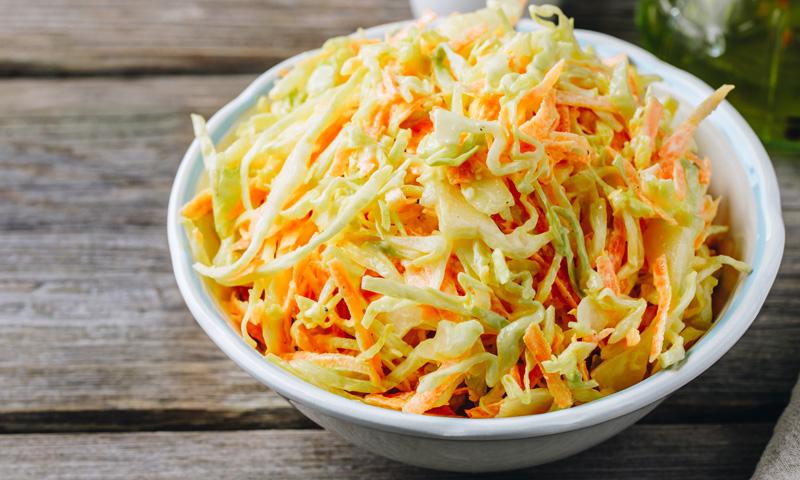 'Coleslaw' (ensalada de col)