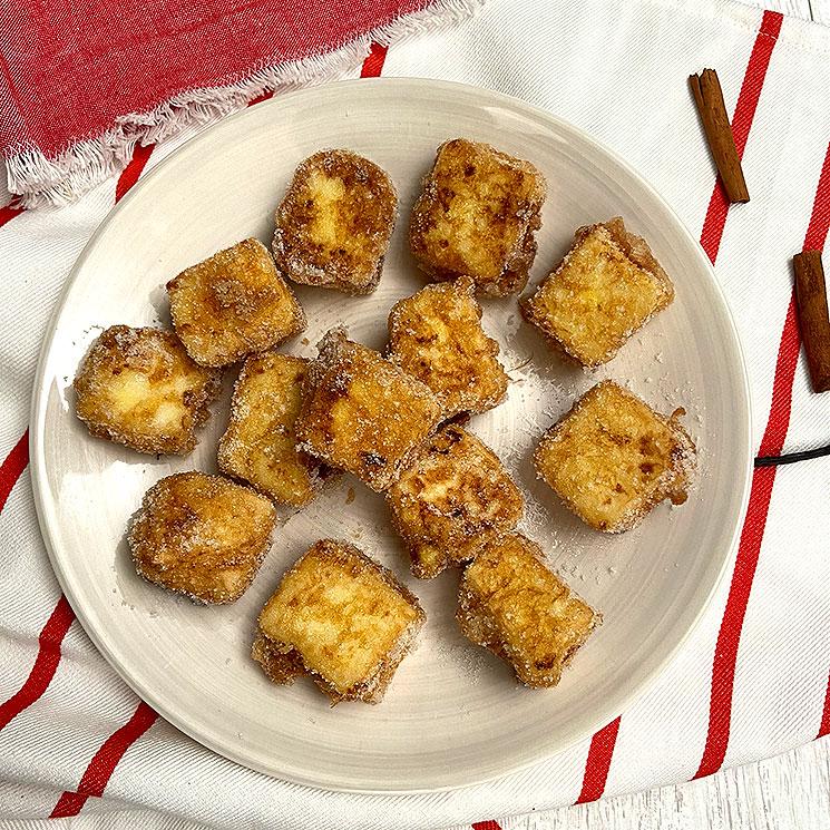 Leche frita, dulce tradicional de Semana Santa