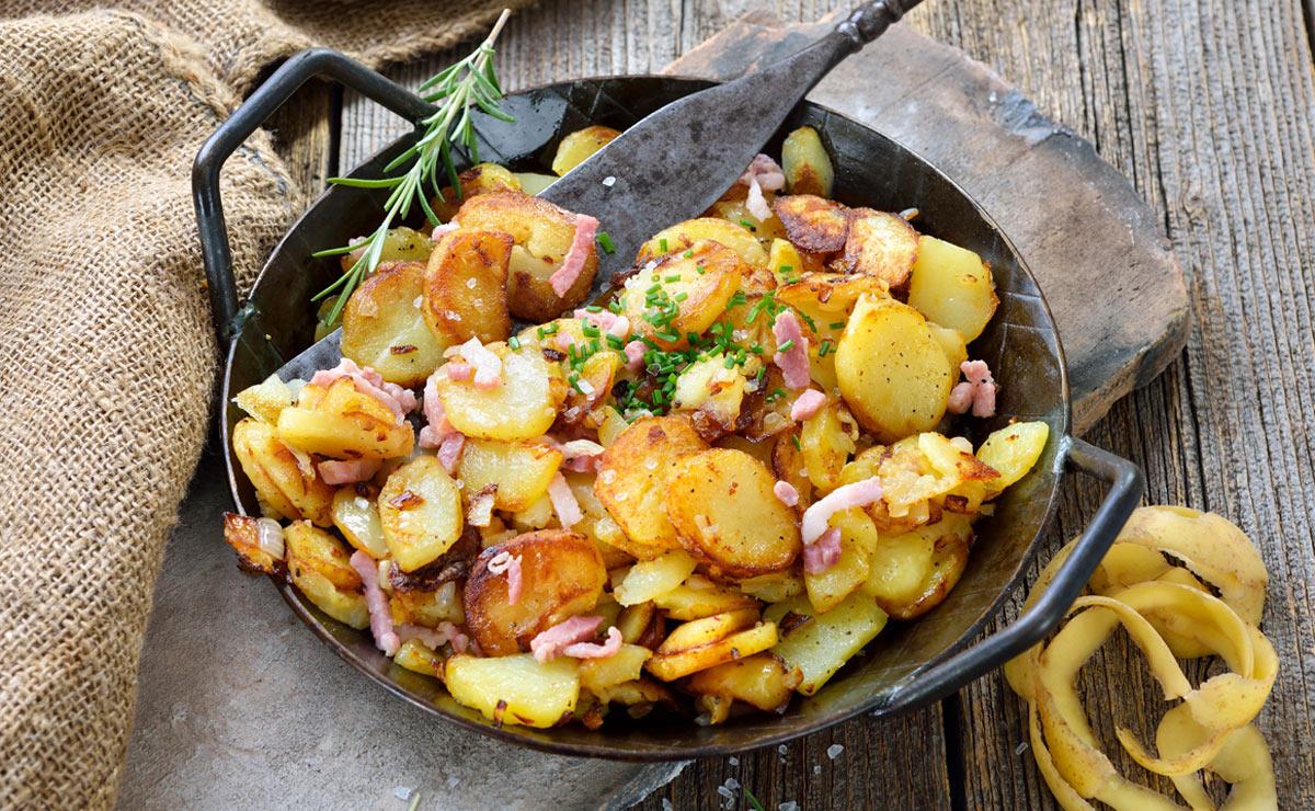 'Bratkartoffeln' (patatas al estilo alemán)