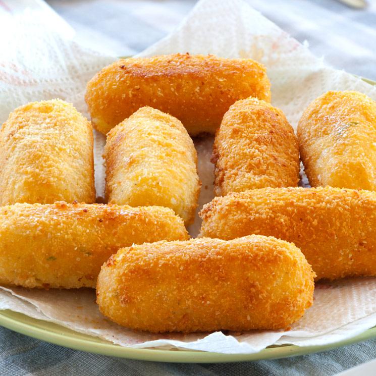 'Crocchè di Patate' (Croquetas de patata al estilo italiano)
