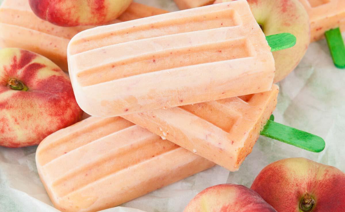 Polos de yogur y paraguaya