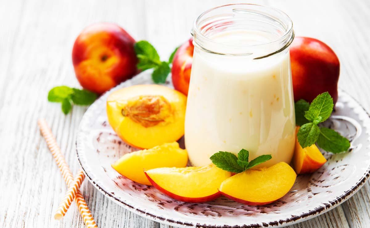 Yogur de nectarina