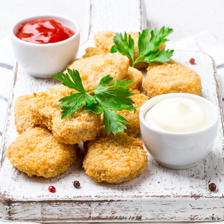 'Nuggets' de pollo