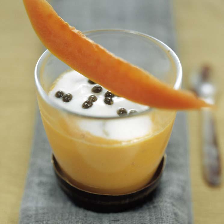 'Lassi' de papaya