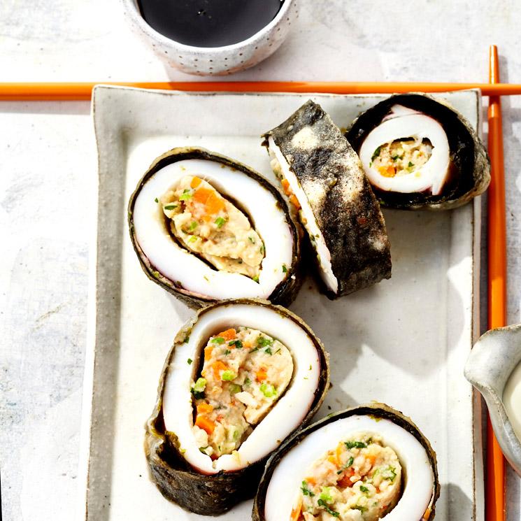 'Sushi' de calamar