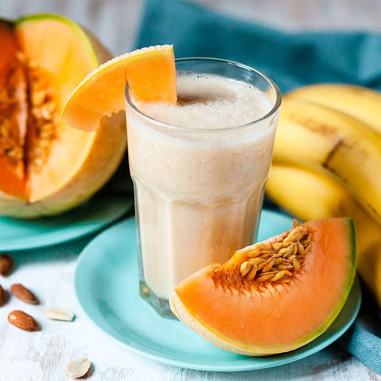'Smoothie' de melón y plátano