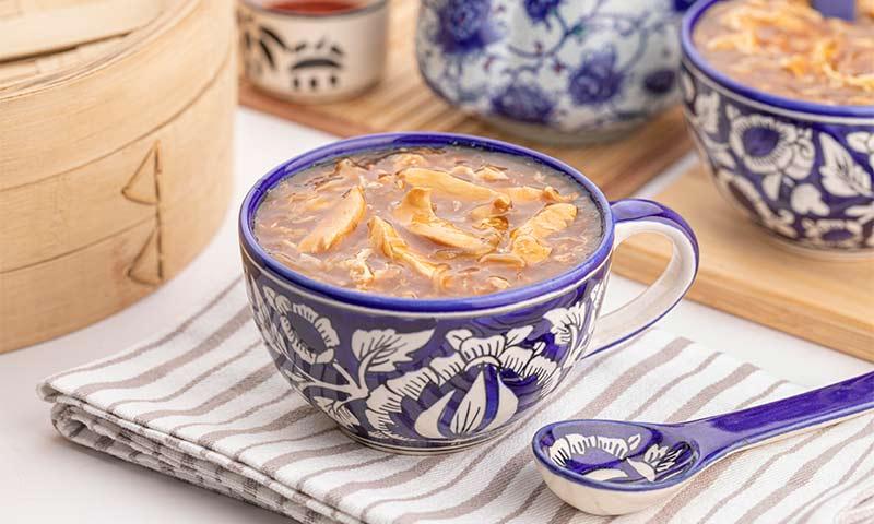 Sopa de pollo fácil y rápida