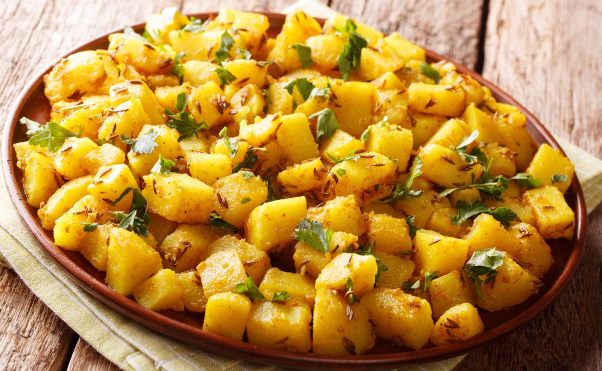 'Patatas Bombay' (al estilo indio)