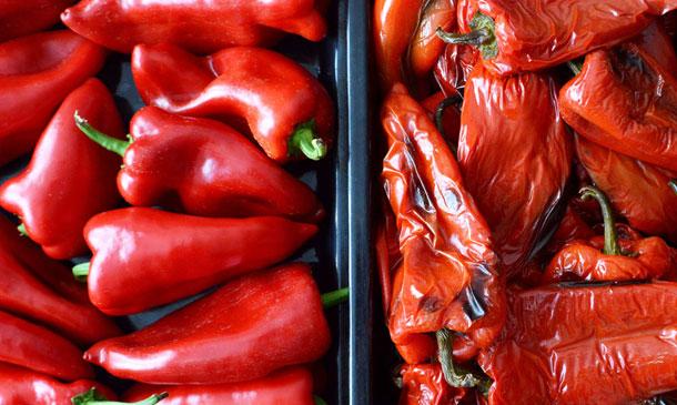Guía para hacer los pimientos asados perfectos