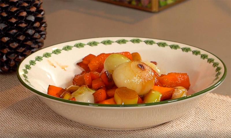 Cómo hacer las verduras glaseadas perfectas
