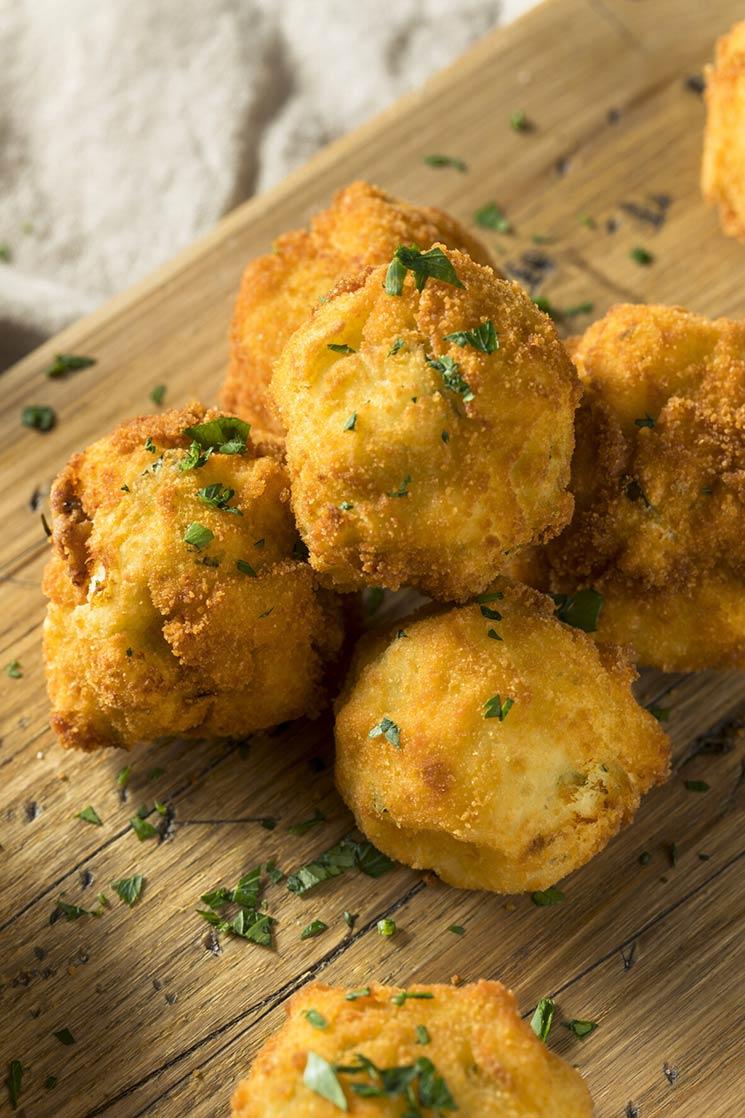 Croquetas de patata a las finas hierbas