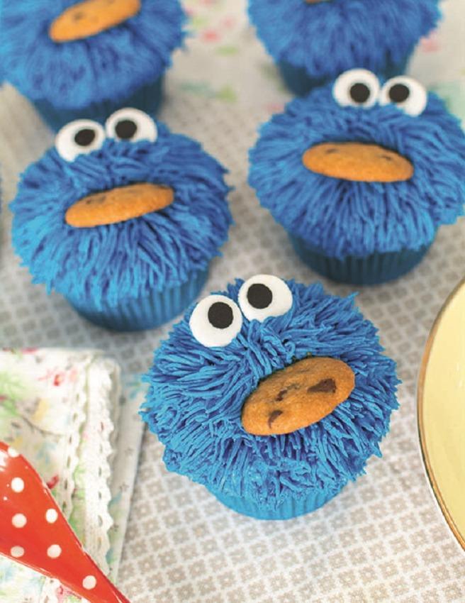 cupcakes-monstruos-galletas