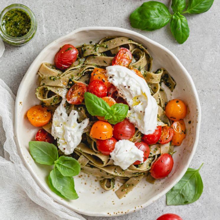 pasta-burrata-tomate-cherry