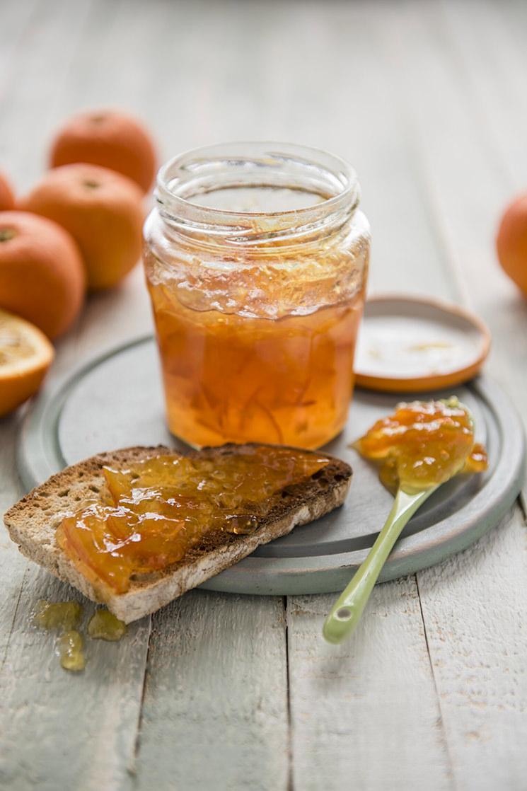 Mermelada de naranja al azafrán