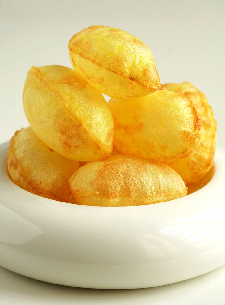 Patatas suflé
