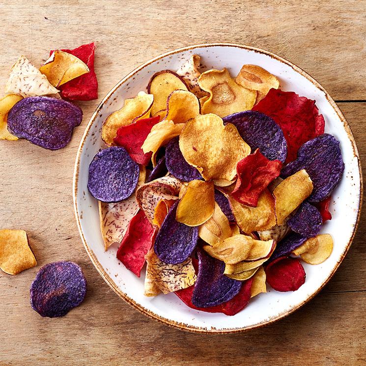 Cómo Hacer Chips Vegetales Fritos O Al Horno