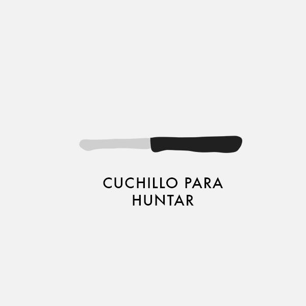 Cuchillo para huntar