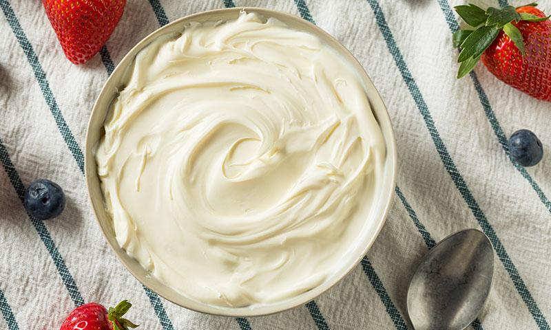 Cómo hacer crema mascarpone en casa con tan solo 2 ingredientes