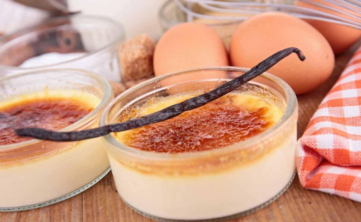 Conoce todos los trucos y secretos para preparar la 'crème brûlée'