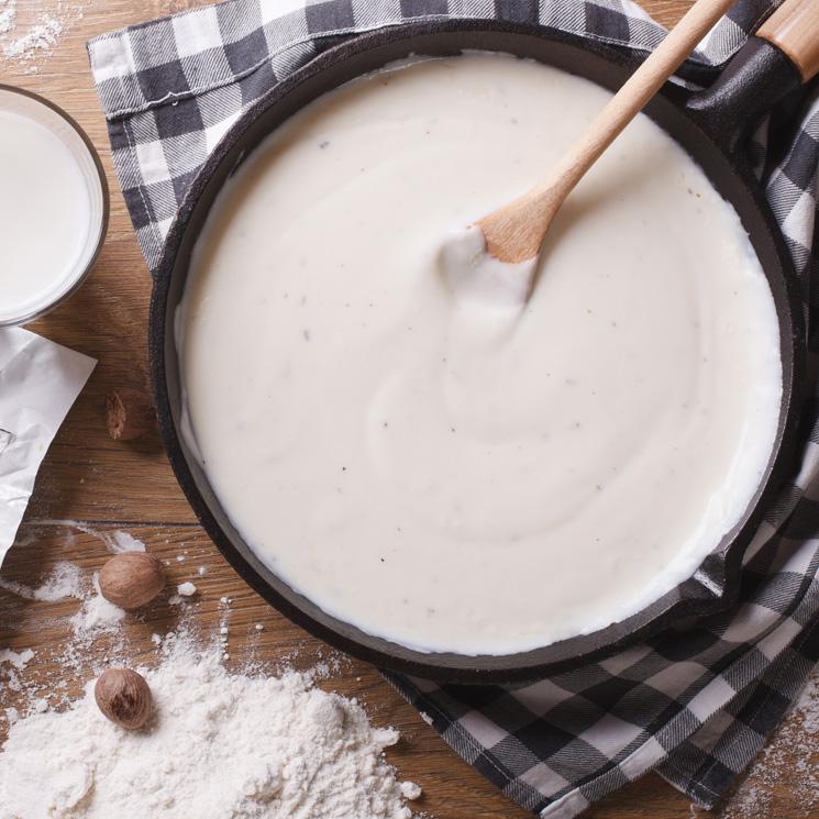 15 claves para preparar la salsa bechamel perfecta