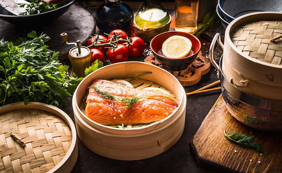 Cocina al vapor: la opción más sana y baja en calorías