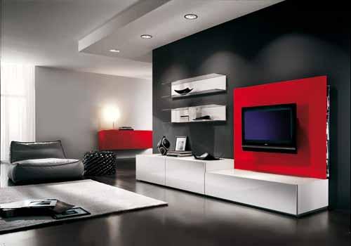 Salones de l neas sencillas pero con mucho estilo for Adornos para el salon de casa