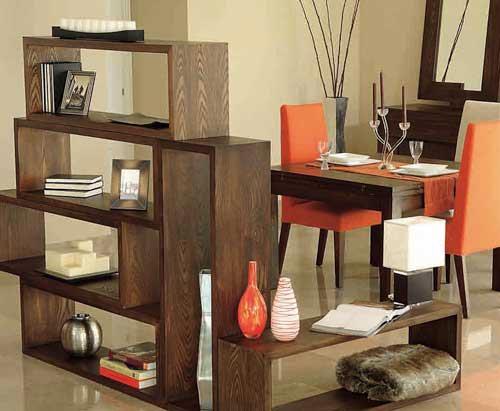 Estanter as modulares jugar con la forma y el espacio for Muebles de sala y comedor para espacios pequenos