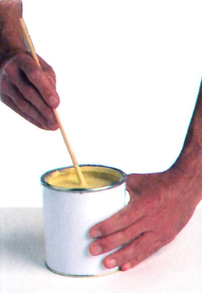 ¿Cómo aprovechar bien un bote de pintura?