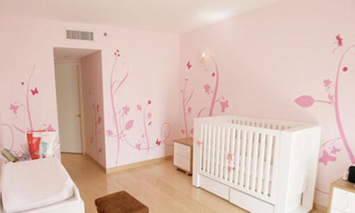 Decora la habitación de tus hijos con murales infantiles