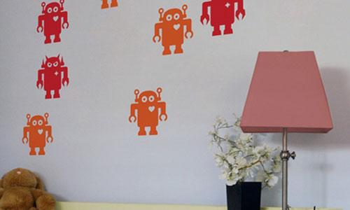 cuidado con los tonos de las paredes el mural no es necesario que ocupe toda la pared puede ir en la parte superior en la inferior una