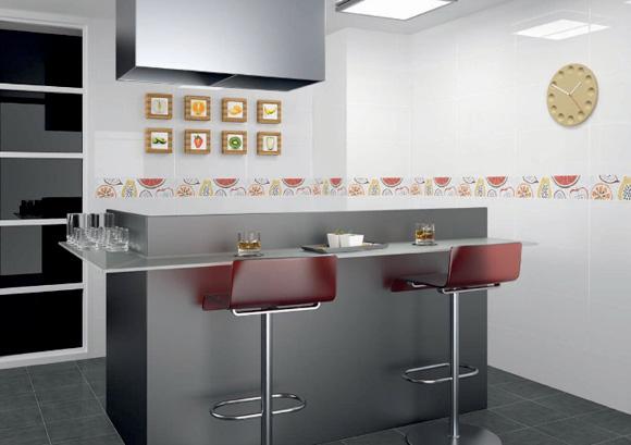 Nueva vida para tu cocina con azulejos de dise o foto - Azulejos para cocina modernos ...