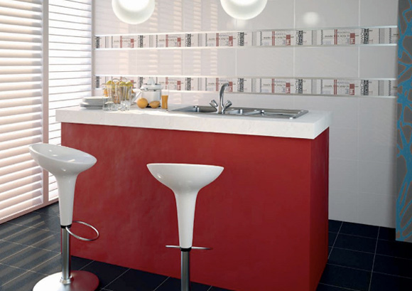 Nueva vida para tu cocina con azulejos de dise o foto 2 for Medidas de azulejos para cocina