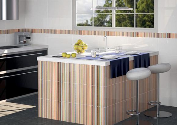 Nueva vida para tu cocina con azulejos de dise o foto 4 - Limpieza de azulejos de cocina ...