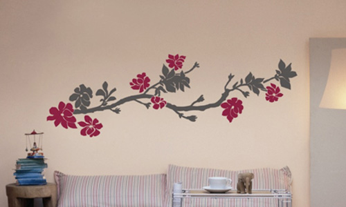 Crea tu propio 39 decowall 39 - Plantillas para pared ...
