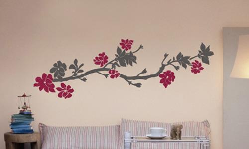 Dibujos en paredes de habitaciones imagui - Dibujos decoracion paredes ...