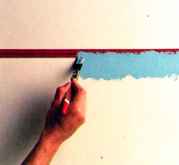No te conformes con pintar tus paredes dales un toque for Moda en pintura de paredes