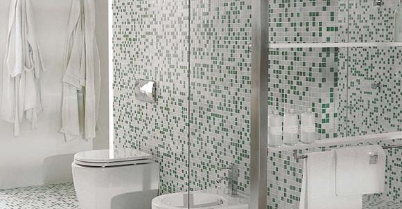 Azulejos Baño Porcelanosa:más sobre decoración azulejos gresite baño mosaico tendencias