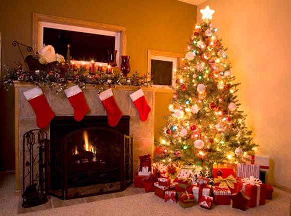 C mo decorar el rbol de navidad - Arbol de navidad adornos ...
