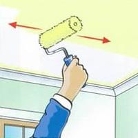 Pinta el techo de tu casa como un profesional - Tecnicas para pintar una habitacion ...