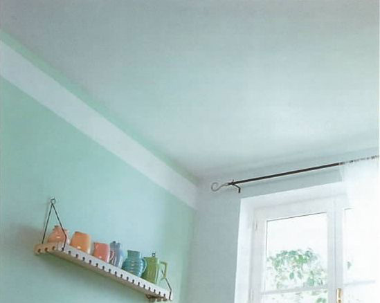 Pinta el techo de tu casa como un profesional foto 4 - Pintar lamparas de techo ...