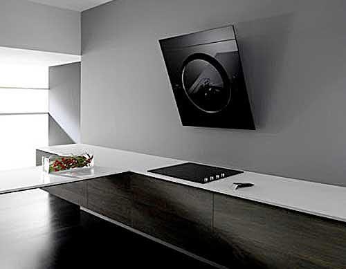 Campanas extractoras que decoran tu cocina foto - Campanas extractoras diseno ...
