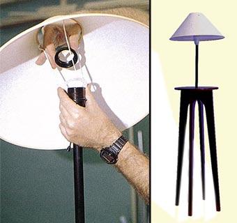 Decora tu salón con una lamparita de pie