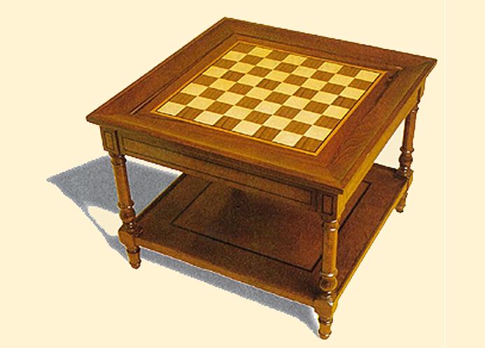 Construye una bonita mesa de ajedrez