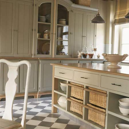 Estilo r stico en la cocina - Azulejos de cocinas rusticas ...